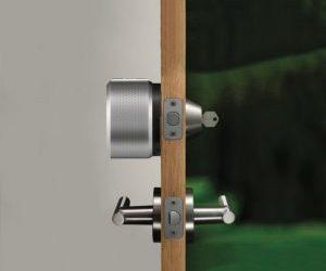 installation serrure connectée
